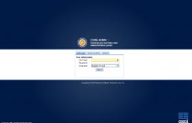 Core-Admin platform login